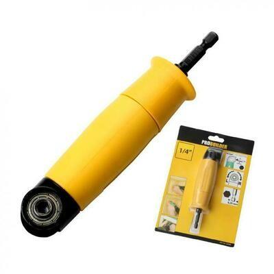 Адаптер для бит угловой 90 градусов PROBUILDER корпус: желтый