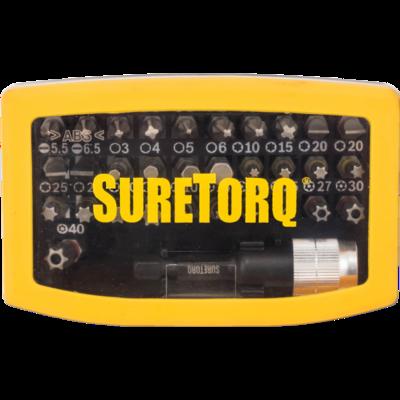Набор бит 32 шт. с цветовой маркировкой // SURETORQ