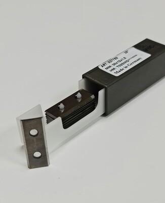 Нож твердосплавный для фрез 40 х 12 х 1,5 мм  Z2