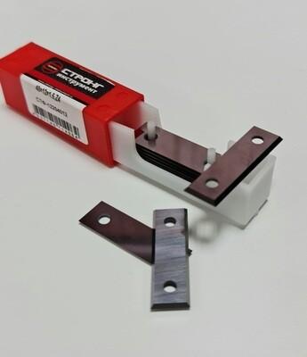 Нож твердосплавный для фрез 40 х 12 х 1,5 мм  Z4