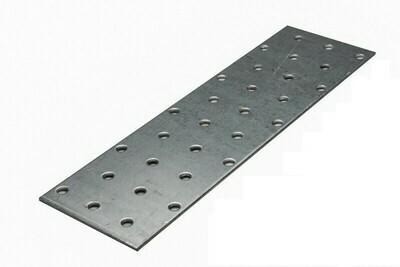 Пластина соединительная 100х200х2,0 мм, оцинкованная