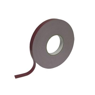 Скотч 2-х сторонний красный 19 мм x 20 м для зеркал