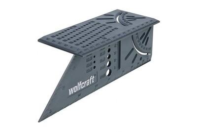 Угольник разметочный 3D, многофункциональный // Wolfcraft