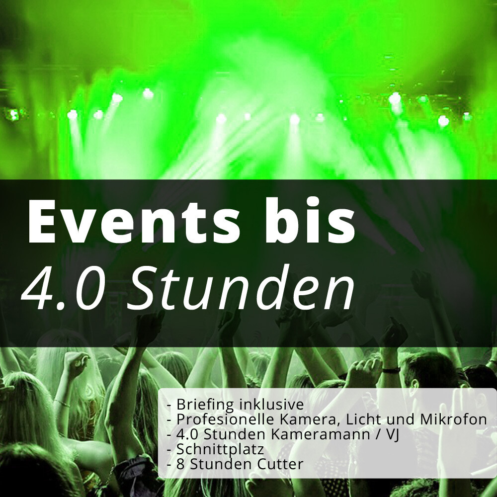 Events bis 4.0H