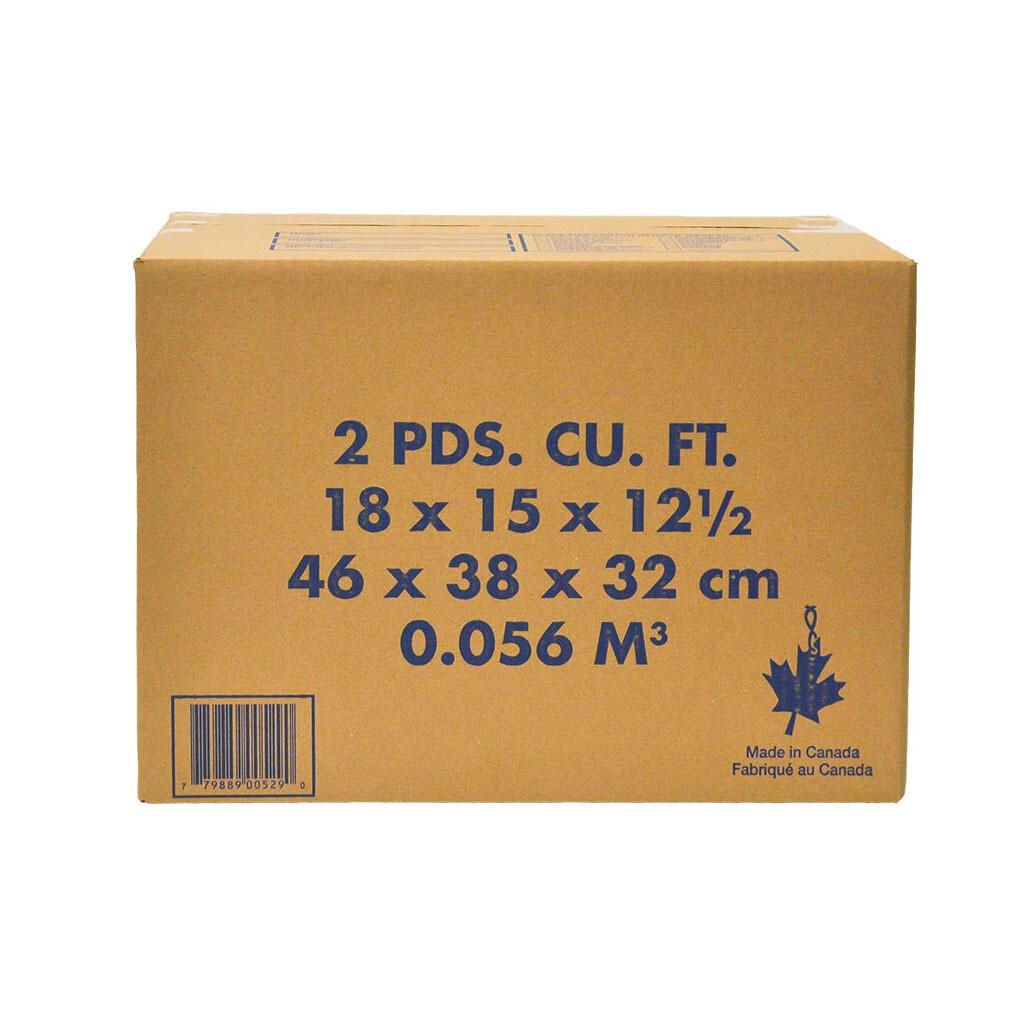 2 Cubic FT Carton