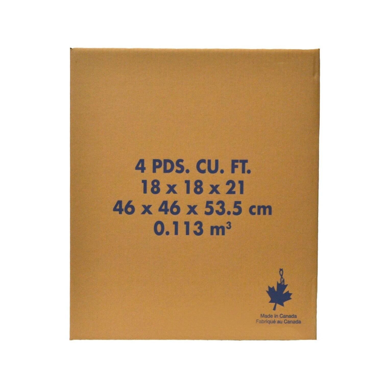 4 Cubic FT Carton