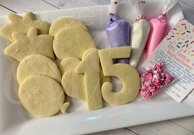 Custom Birthday Cookie Kits