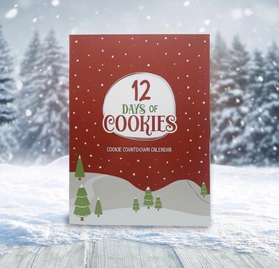 Cookie Advent Calendar - 12 Days