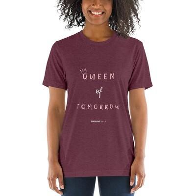 Short sleeve 'Queen of Tomorrow' t-shirt
