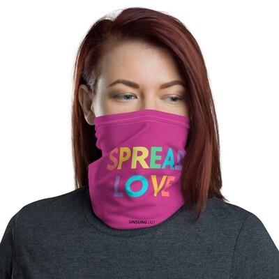 'Spread Love' Face mask / Headband