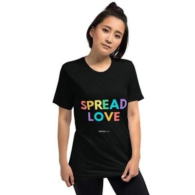 'Spread Love' Short sleeve Unisex t-shirt