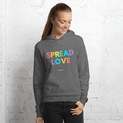 'Spread Love' Unisex hoodie
