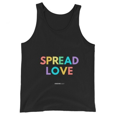 'Spread Love' Unisex Tank Top
