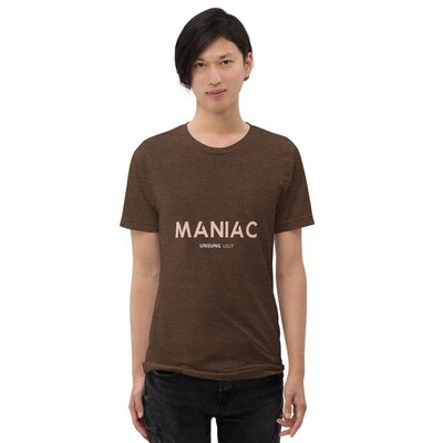 Short sleeve 'Maniac' t-shirt