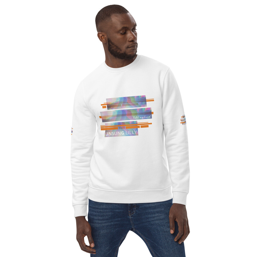 Unsung Lilly Limited Edition 'Hold My Hand' Unisex eco sweatshirt