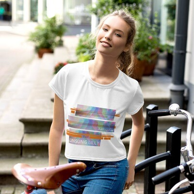 Unsung Lilly Limited Edition 'Hold My Hand' Crop Tee