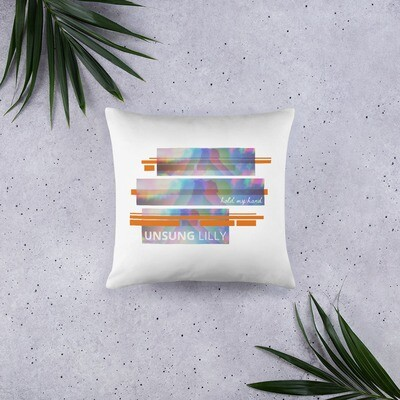 Unsung Lilly Limited Edition 'Hold My Hand' Pillow