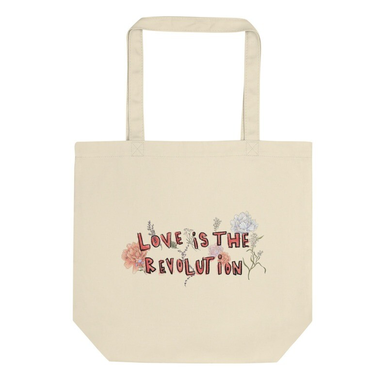 Love Is The Revolution Tote Bag