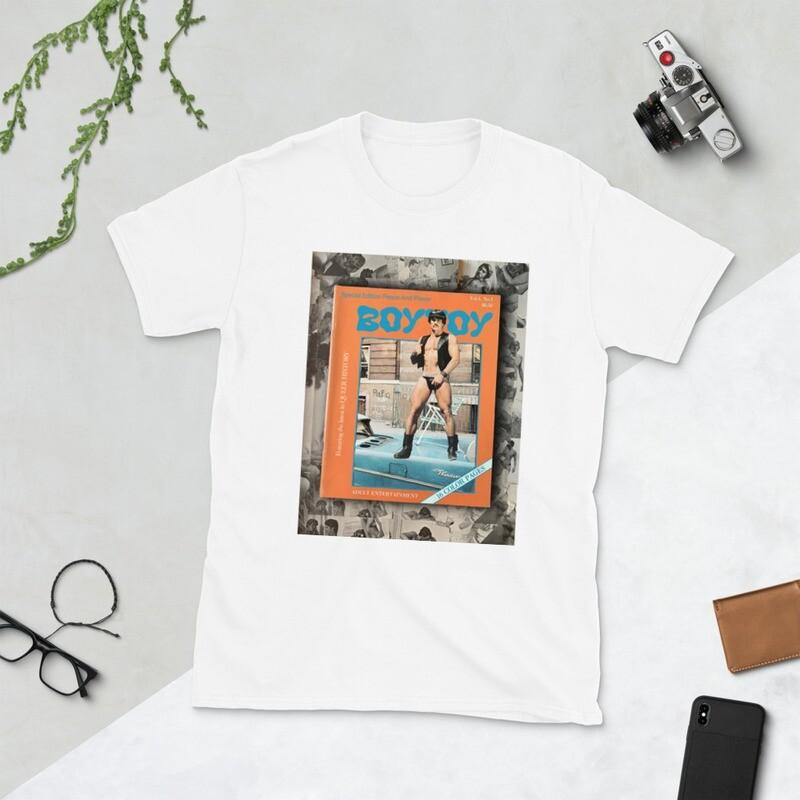 BOYTOY Vintage Gay Magazine T-Shirt Pride Edition