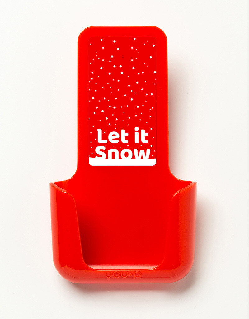 YOU·P   Let it snow   Rood