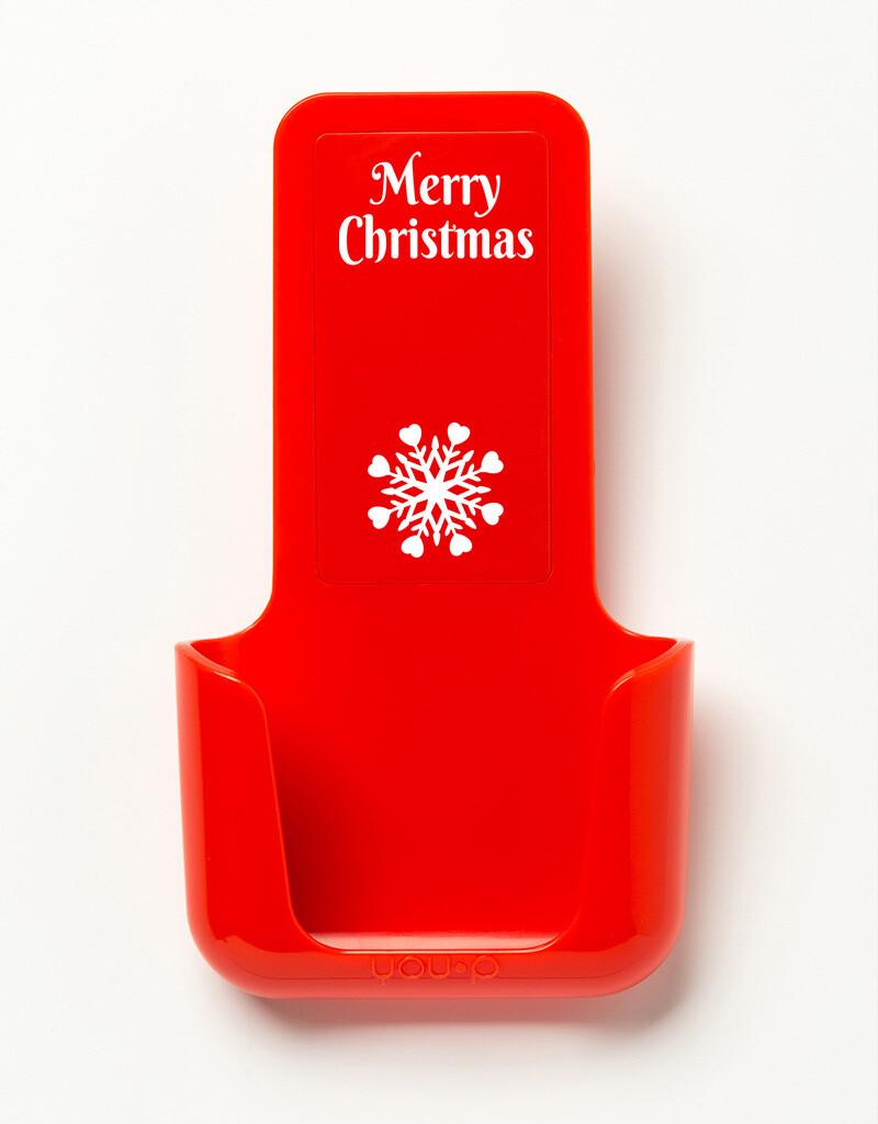 YOU·P | Merry Christmas Snowflake | Rood