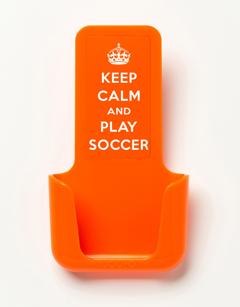 YOU·P | Keep calm, play soccer | Oranje
