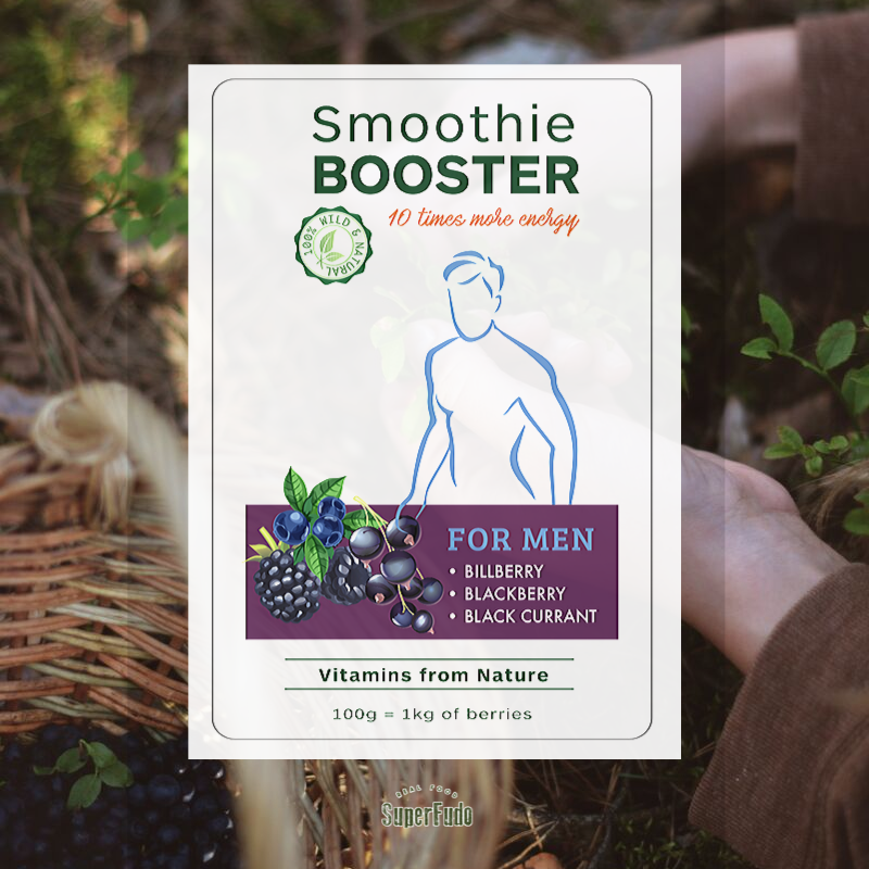 """For Men"" - Smoothie Booster | PREMIUM Quality  ~190g / ~6.7oz"