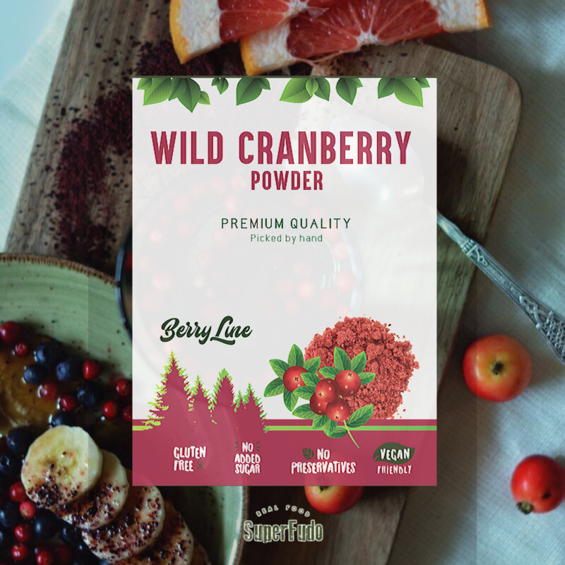 Wild Cranberry powder | PREMIUM Quality  ~190g / ~6.7oz