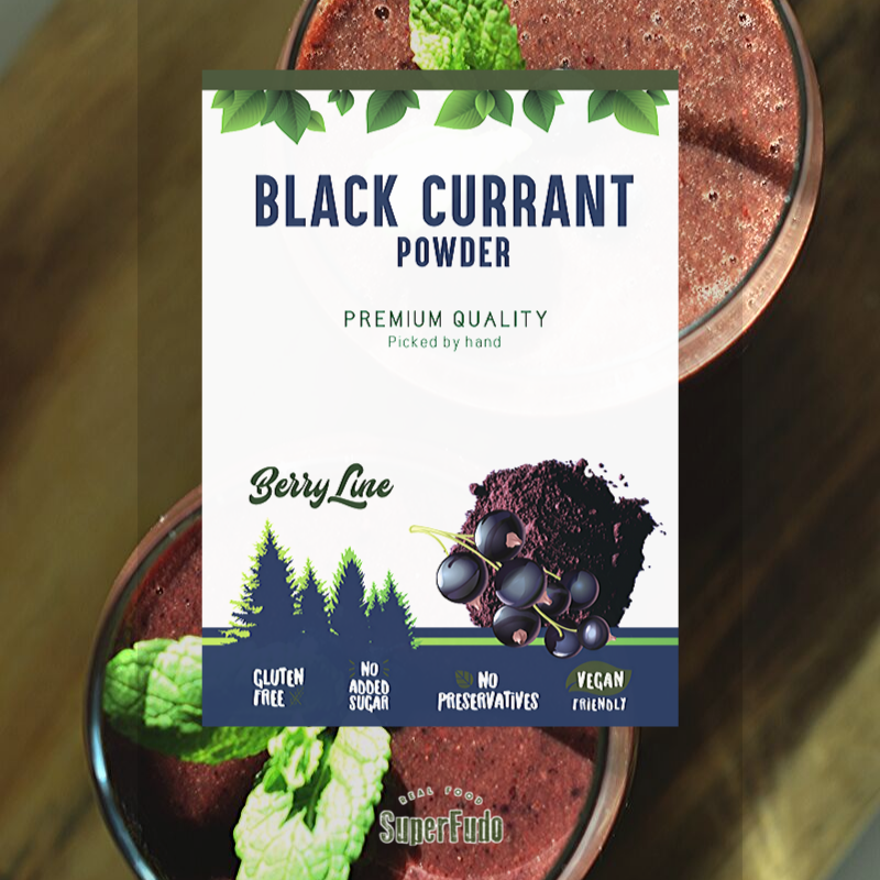 Black Currant powder | PREMIUM Quality ~90g / ~3.17oz