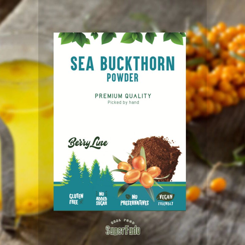 Sea Buckthorn powder | PREMIUM Quality  ~190g / ~6.7oz