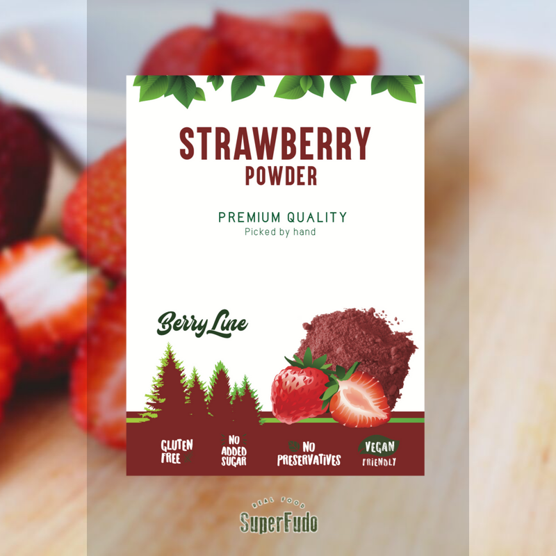 Strawberry powder | PREMIUM Quality ~190g / ~6.7oz