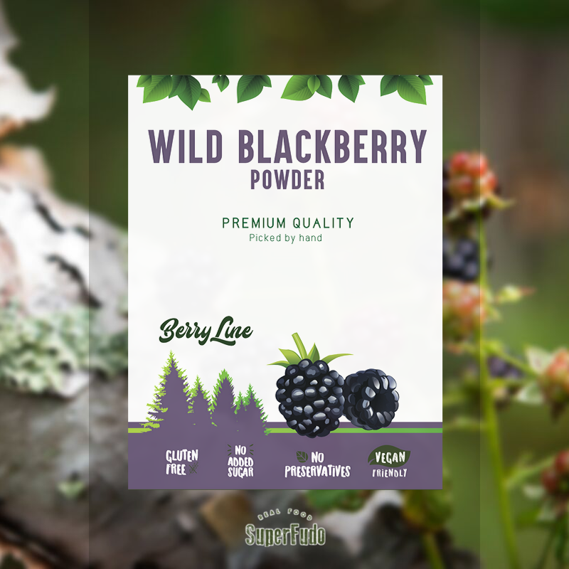 Blackberry powder (wild) | PREMIUM Quality ~90g / ~3.17oz