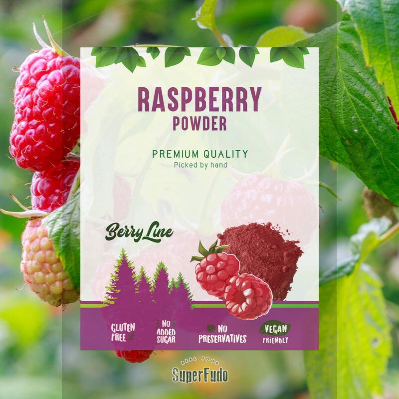 Raspberry powder | PREMIUM Quality  ~190g / ~6.07oz