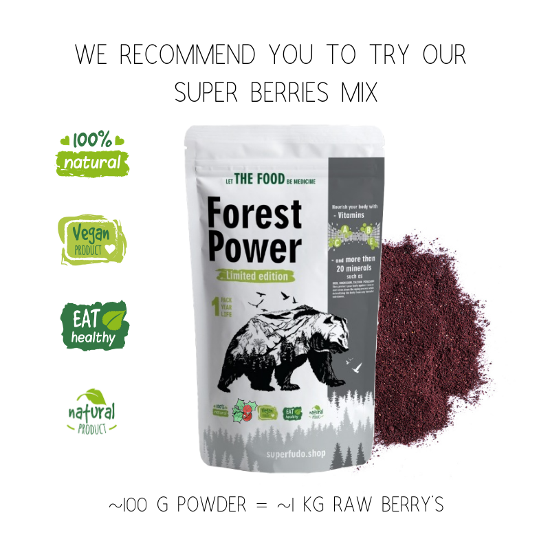 """Forest Power"" Wild Berries Powder Mix 