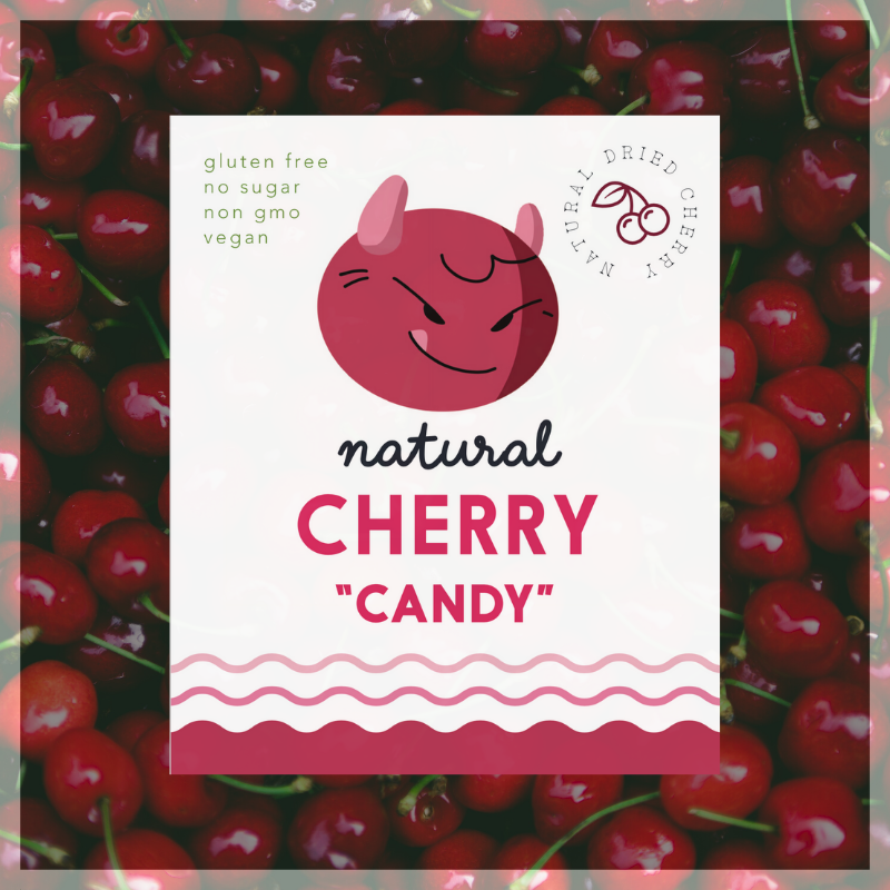 Cherry Candy's - ~90g | ~3.17 oz (dried Cherry)