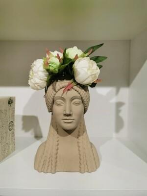 vase grec   KORE coloris  beige
