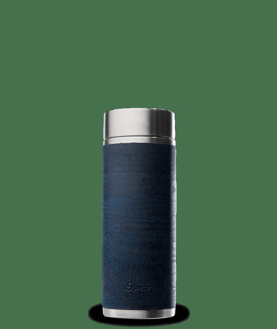 fourreau en liège bleu pour théière isotherme 300 ml