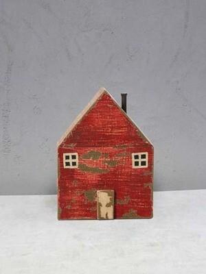 Maison en bois rouge danoise