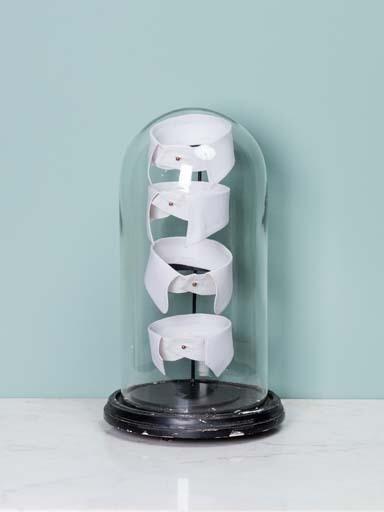 Dôme/ cloche cols en popeline