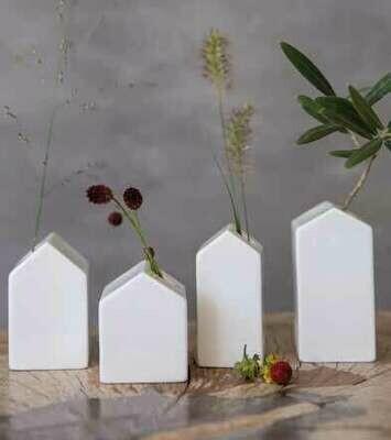 Set de 4 maisons vases