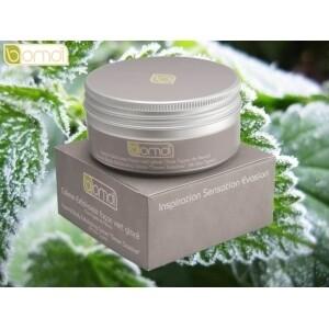 Crème exfoliante façon vert glacé BOMOI