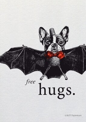 Carte FREE HUGS