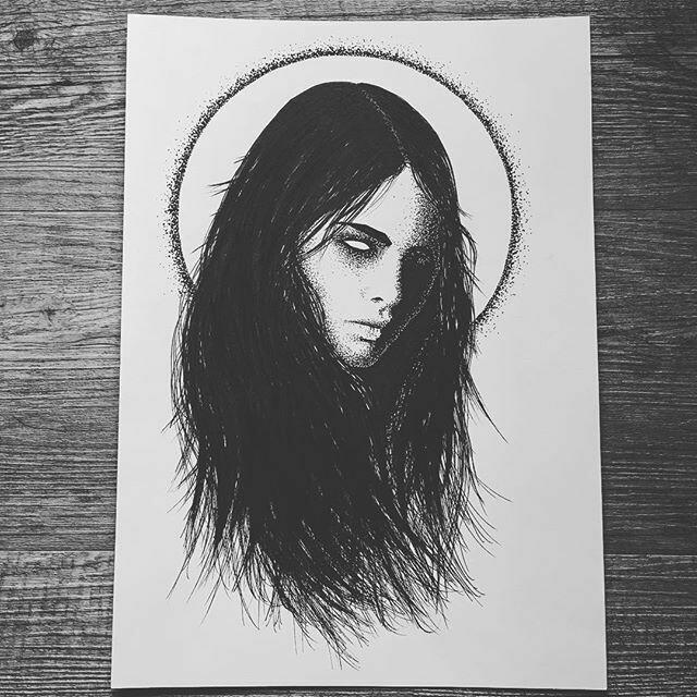 Print WOMAN by The Artist Alex Kopteff