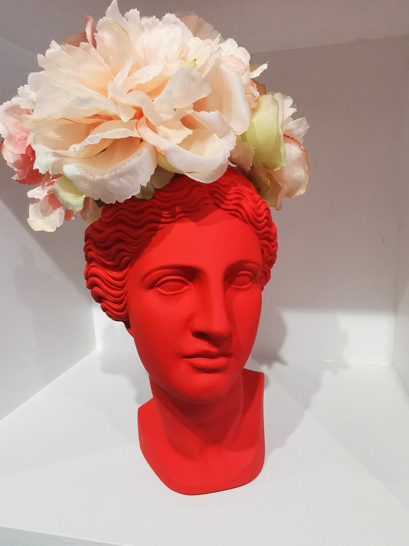 VENUS vase coloris red