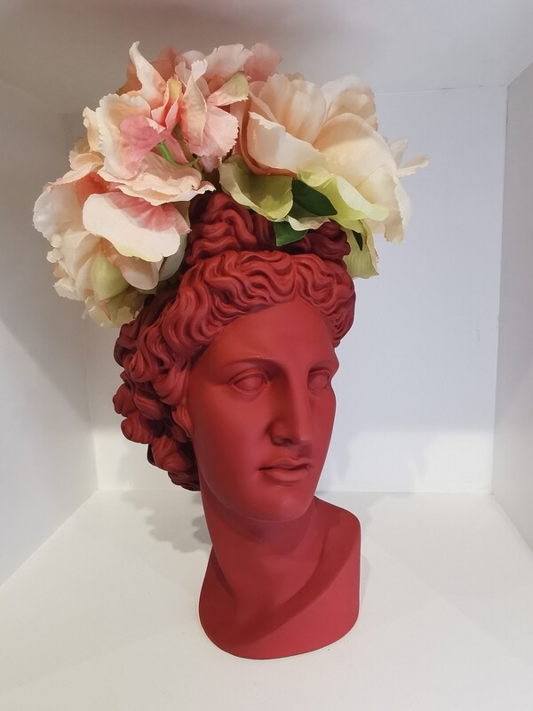 Apollo Vase col baked red
