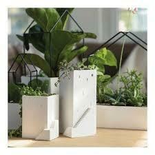Vase maison avec jardin medium size
