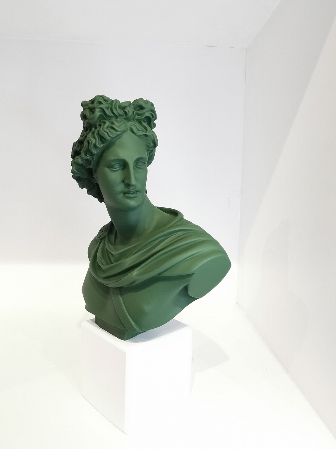 Apollo Bust col Pin