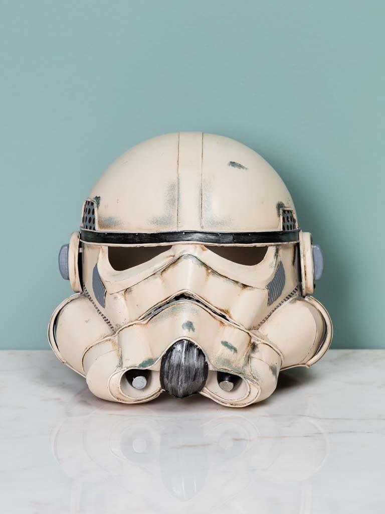 Casque Blanc Style Star Wars stormtrooper