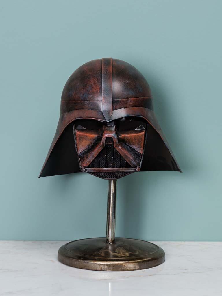 Casque Noir Style Star Wars Dark Vador