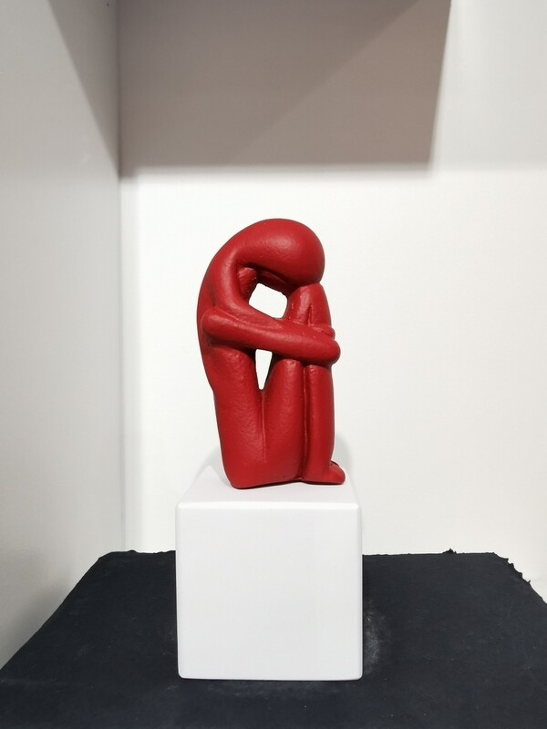 Cycladic Woman col Baked red